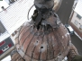 Industrieklettern an Kirchtürmen - Kreuzkontrolle und Abnahme