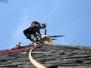 Industrieklettern an Kirchtürmen - Turmdachkontrolle und Blitzschutzreparatur