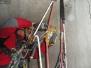 Industrieklettern - Montage von schweren Bauteilen in einem Sendeturm