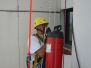 Industrieklettern - Montage von schweren Bauteilen - Kernbohrungen und Taubenvergrämung